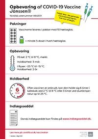 Lille billede af information om opbevaring af covid-19-vaccine fra Janssen